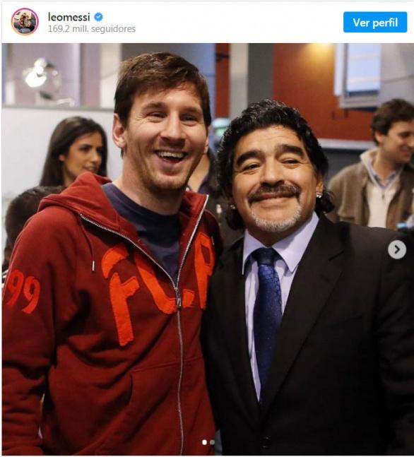 Messi sobre Maradona: