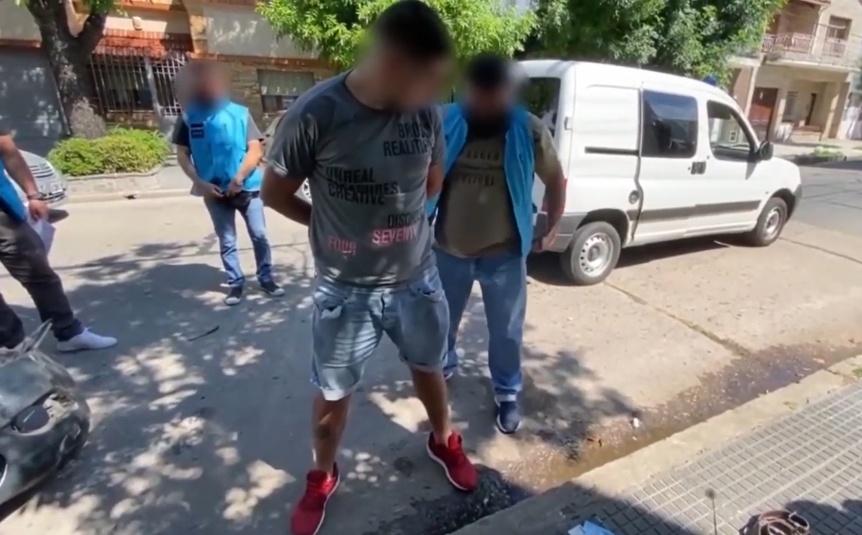 Detuvieron a un sujeto con 2kg de cocaína tras una persecución hasta Avellaneda