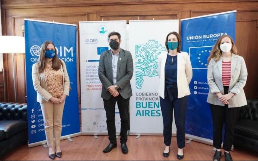 El Hospital de Quilmes y otros distritos recibir�n insumos donados por la UE