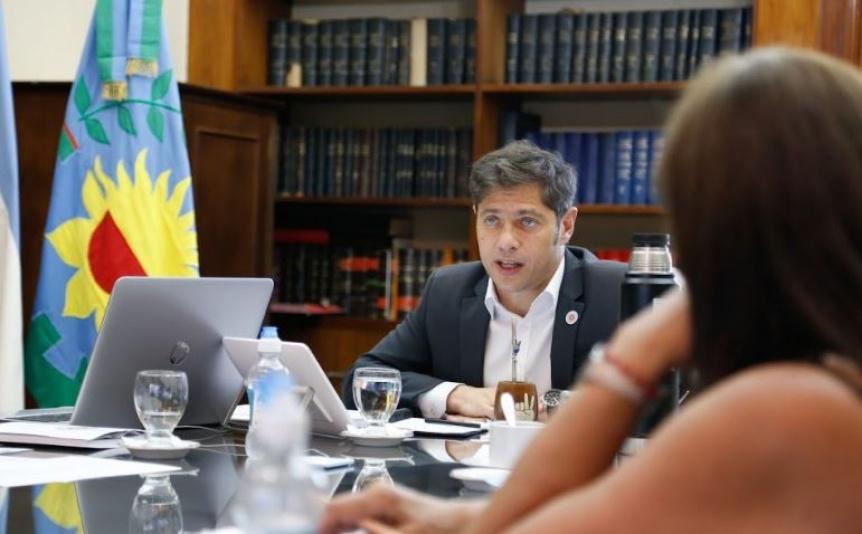 Kicillof evaluó la situación epidemiológica junto a especialistas e intendentes