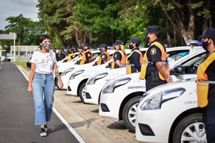 La Comuna entregó 10 nuevos patrulleros a la Policía Bonaerense