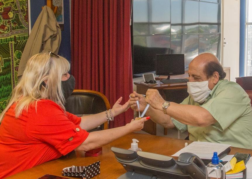 El Rotary Club reconoci� a Mussi como servidor p�blico