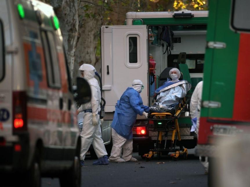 Se registraron 20.906 contagios en las �ltimas 72 horas y murieron 156 personas por COVID