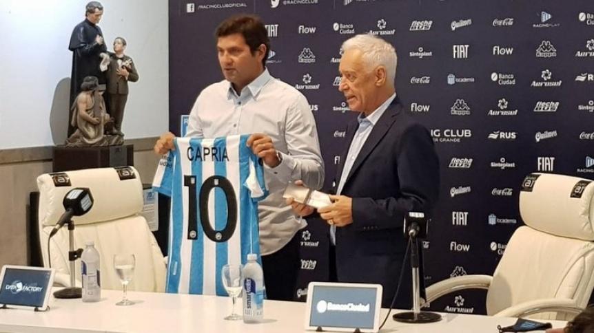 Rubén Capria es el nuevo manager en reemplazo de Diego Milito
