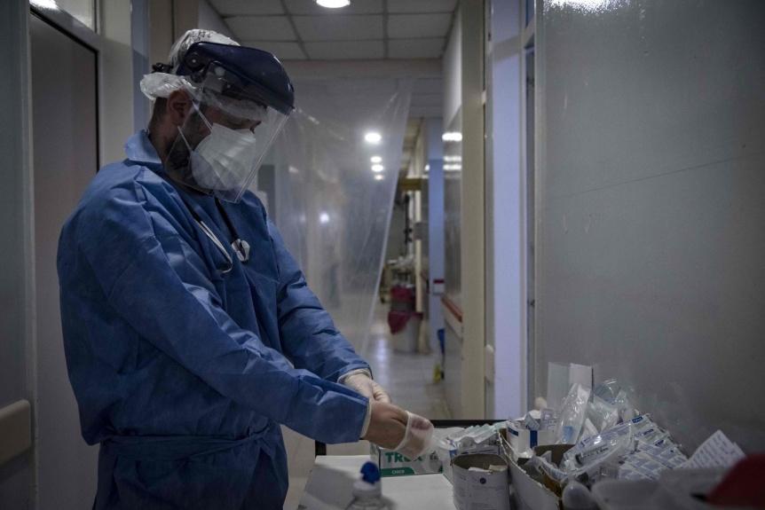Confirmaron 160 muertes y 8.704 nuevos contagios en las últimas 24 horas