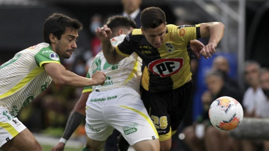 Defensa y Justicia empat� con Coquimbo Unido la primera semifinal
