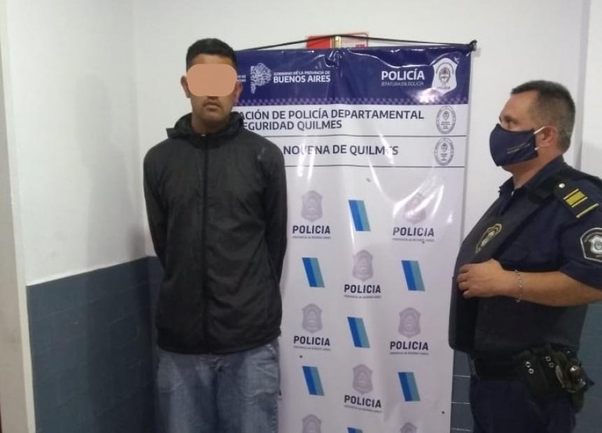 Atrapan a supuesto asaltante en Quilmes Oeste