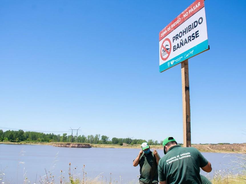 Varela realiz� una jornada de concientizaci�n sobre el peligro de las tosqueras