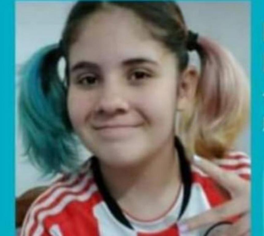 Desesperada b�squeda de Morena en La Plata: Tiene 13 a�os