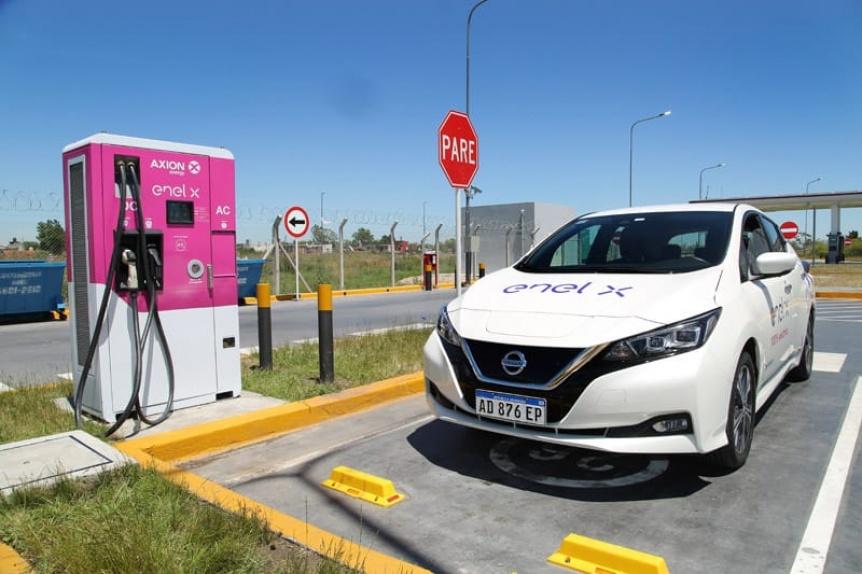 Hudson ya tiene cargadores de veh�culos el�ctricos en estaciones de servicio