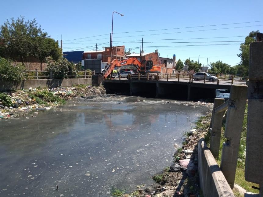 El municipio continúa con las tareas de limpieza en la ciudad