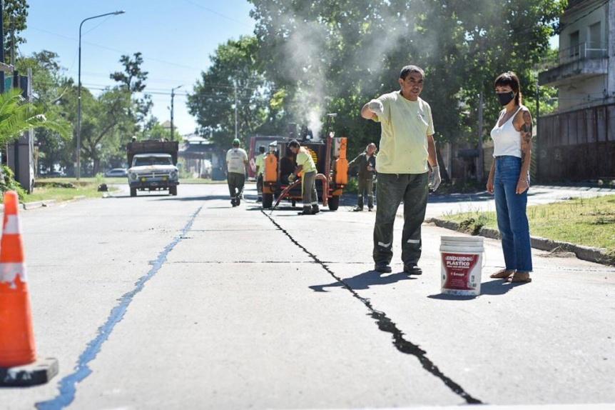Mendoza supervis� tareas de servicios p�blicos en La Ribera