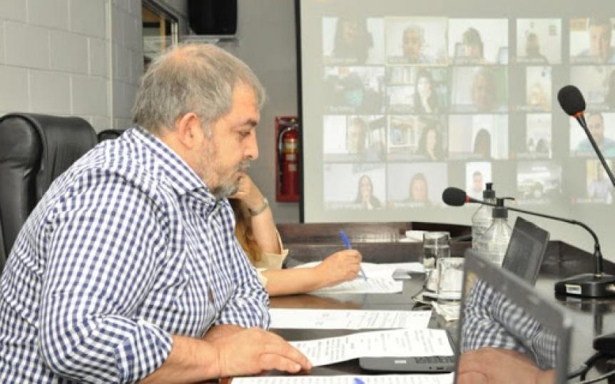 El Concejo Deliberante mantuvo una sesión por Zoom